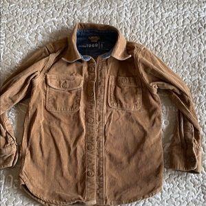 Tan Corduroy shirt! No stains. Smoke free home.